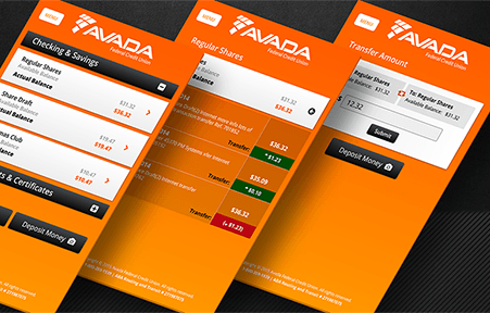 Mobile Banking UI Themes